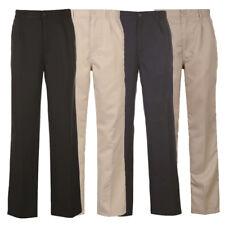 Dunlop señores golf pantalones pantalones de golf 30-42 negro/beige