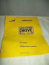 Namco Smashing Drive NYC-11xM Original Operator's Manua