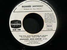 RICHARD ANTHONY Aranjuez mon amour / Plante un arbre PROMO SCRF998