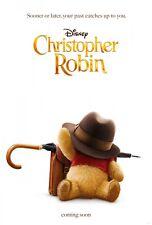 Movie Poster 2018 Disney's Christopher Robin Full Color Semi-Gloss (3 Sizes)