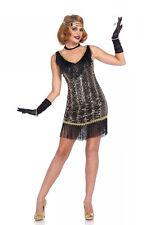 Sexy Halloween Adult Leg Avenue Charleston Charmer Flapper Girl Costume