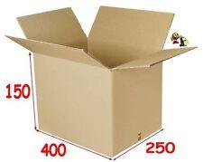 Pour l'envoi de 30 DVD lot de 20 boîtes emballage carton 400 X 250 X 150 mm