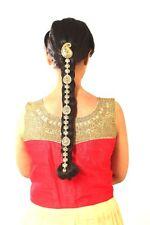 Stone Parandi Choti hair head jewellery hair palette bun pin diamante hair chain