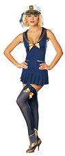 Seaside Pinup Sailor Adult Womens Costume Career Uniform Theme Party Halloween