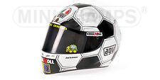AGV Casque miniature Pilote Rossi GP Barcelone 1/2 Minichamps