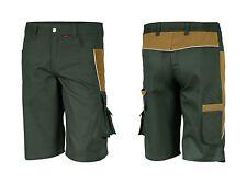 Arbeitsshorts oliv khaki grün braun 42-64 Bermuda Kurze Hose Shorts Arbeitshose