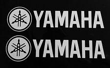 (2) YAMAHA Tuning Fork LOGO Sticker/Decal WaveRunner YZF YZ R1 R6 Raptor Banshee