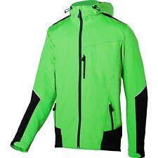 BBB DeltaShield Cycling Men's Rain Jacket Black/Green