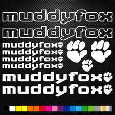 Muddyfox 11 Stickers Autocollants Adhésifs - Vtt Velo Mountain Bike Dh Freeride