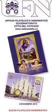Vatican 2012, Enveloppe Phila-Numis VII ème rencontre Mondiale des Familles.