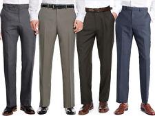 Marks & Spencer Pantalones para hombre cintura Activo Nuevo M&S Inteligente Pantalones largos formales de trabajo