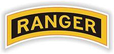 sticker Ranger Airborn Tab school Logo decal us army battalion military insignia