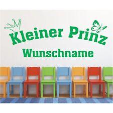 Wandtattoo Kleiner Prinz  Name Wunschname Wunschtext Wandaufkleber Sticker 88