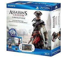 Sony PlayStation Vita Assassin's Creed III Liberation Bundle White Handheld...