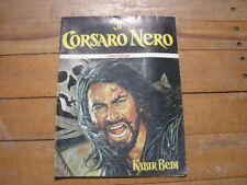 ALBUM FIGURINE IL CORSARO NERO ED.PANDA PLAY