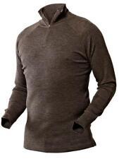 Harkila All Season shirt zip-neck Shadow brown
