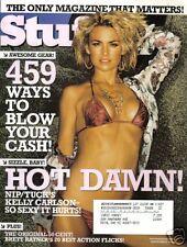 Magazine STUFF September 2005 KELLY CARLSON ISSUE 70 Rob Schneider Deuce Bigalow