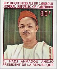 Cameroun Cameroun 1969 565 488 u president Ahmadou Ahidjo Independence 9 Ann MNH