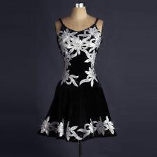 Latin Dance Dress Salsa Tango Cha cha Ballroom Crystal Competition Dress#FM227
