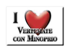 CALAMITA LOMBARDIA FRIDGE MAGNETE SOUVENIR I LOVE VERTEMATE CON MINOPRIO (CO)--