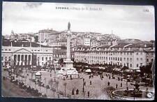 Portugal~1909 LISBOA - Praca de D. Pedro IV.  RPPC