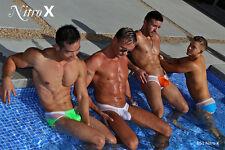 N2N Bodywear Nitro X Men's Swim Bikini Mesh
