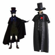 Black Butler Cosplay Disfraz de Ciel Phantomhive Conjunto Negro en los funerales