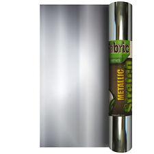Metallic Stretch 305mm x 500mm - Heat Transfer Iron on Vinyl HTV Cameo 3