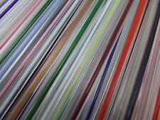 "Filigrana Moretti Effetre 13"" Choice Crystal w Colored Cores Single Rod 104 COE"