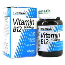 Aiuto Salute Vitamina B12 (cobalamin) 1000ug-scelta di forniture (uno in dotazione)