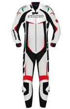 Tuta Moto Spidi Track Wind Pro Bianca Rossa Verde Italia tricolore Pista Sbk New
