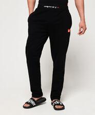 New Mens Superdry SD Laundry Organic Cotton Pants Laundry Black