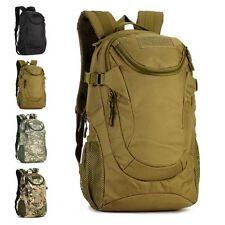 25L Men Outdoor Military Tactical Backpack Rucksack Camping Hiking Trekking Bag
