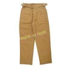 Vintage Gurkha Pants Men's UK Army Bermuda Casual Loose Overalls Work Trousers
