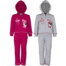 NUEVO Chándal Set Informal Niñas Minnie Mouse Rosa Gris 98 104 116 128 #161