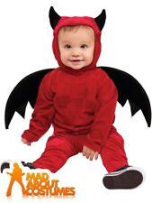 Toddler Lil Devil Costume Halloween Horror Babies Fancy Dress Outfit