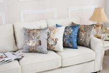 Cuscino FLOCCATI Damasco Buttare Federa letto divano arredamento Cuscino per schienale in vita