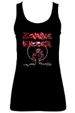 Zombie tueur maillot de corps (avec strass) TOUT tailles 8 pour 16