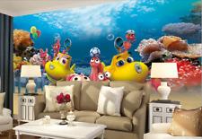 3D Findet Nemo 389 Fototapeten Wandbild Fototapete BildTapete Familie