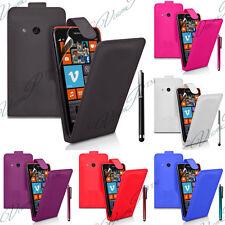 Etui Housses Coque TPU S Silicone GEL PU Simili Cuir Vrai Vague Nokia Lumia 625