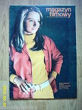 MAJA WODECKA on cover archive Magazyn Filmowy 5/70 Polish magazine