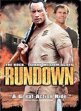 Rundown DVD Rock Seann Scott Rosario Dawson Christopher Walken SHIPS NEXT DAY