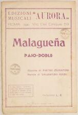 MALAGUENA PIETRO MURATORI VALENTINO GUIDI 1931 PASO DOB
