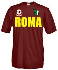 T-Shirt girocollo manica corta Supporters T21_B Tifosi Roma calcio football fans
