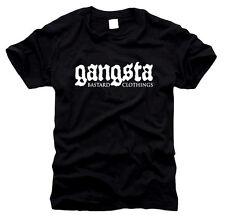 Gangsta Bastard Clothings - Herren-T-Shirt, Gr. S bis XXL