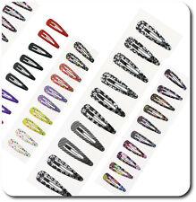 Neu Haarclips Haarspangen Paris Haarklammern X 10 Haarschmuck Mädchen Ca 50 mm