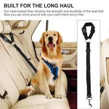 Dog Safety Vest Harness Pet Adjustable Car Safety Mesh Harness Travel Strap H
