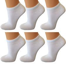 36 Paar Damen Sneaker Socken schwarz mit  Elasthan Top