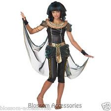 CK111 Dark Egyptian Princess Tween Cleopatra Halloween Fancy Dress Costume