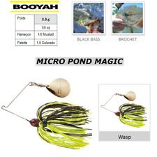 SpinnerBaits BOOYAH MICRO POND MAGIC Wasp PIKE BLACK BASS ...